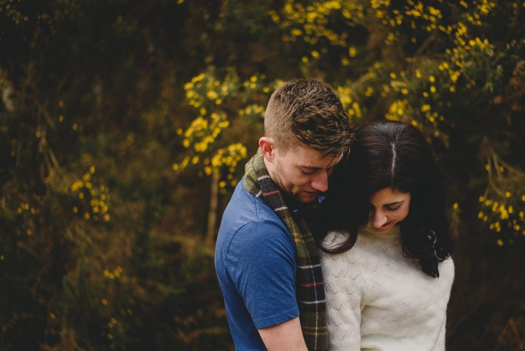 dunwich woods engagement session