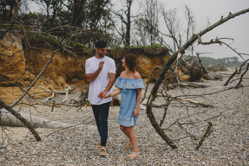 covehithe engagement session norfolk