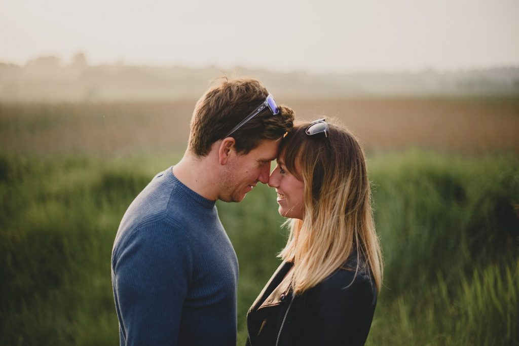 dunwich beach engagement session