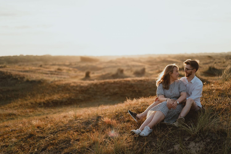 winterton beach dunes engagement session norfolk