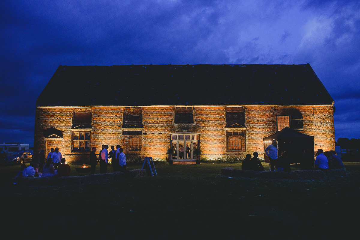 godwick barn at night