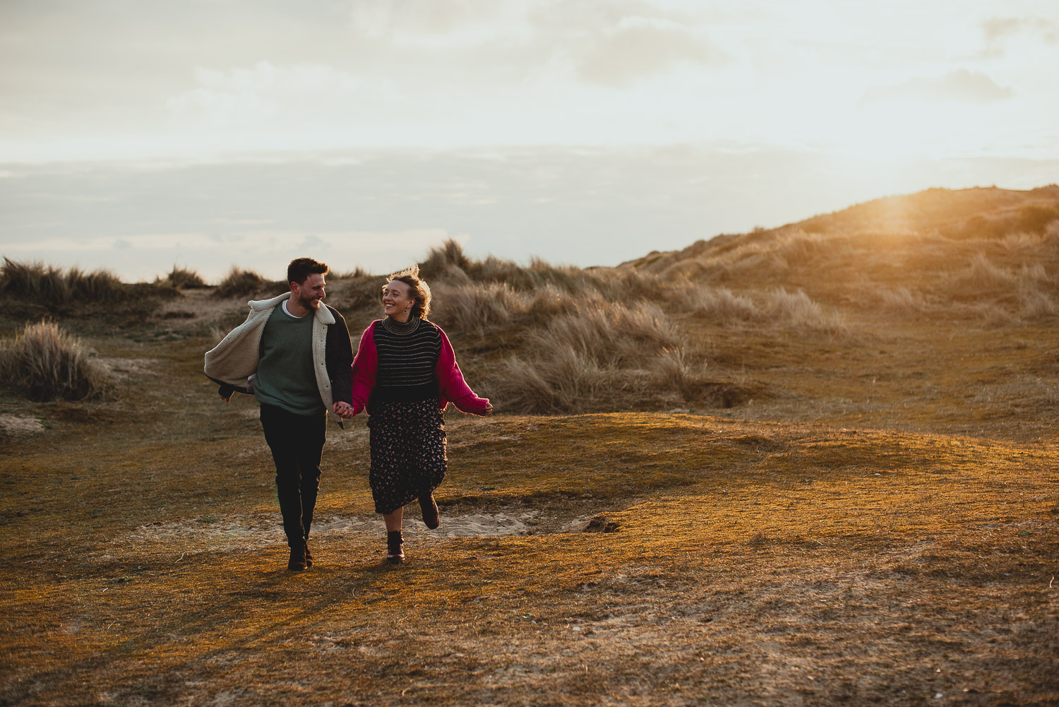 burnham overy staithe engagement session norfolk