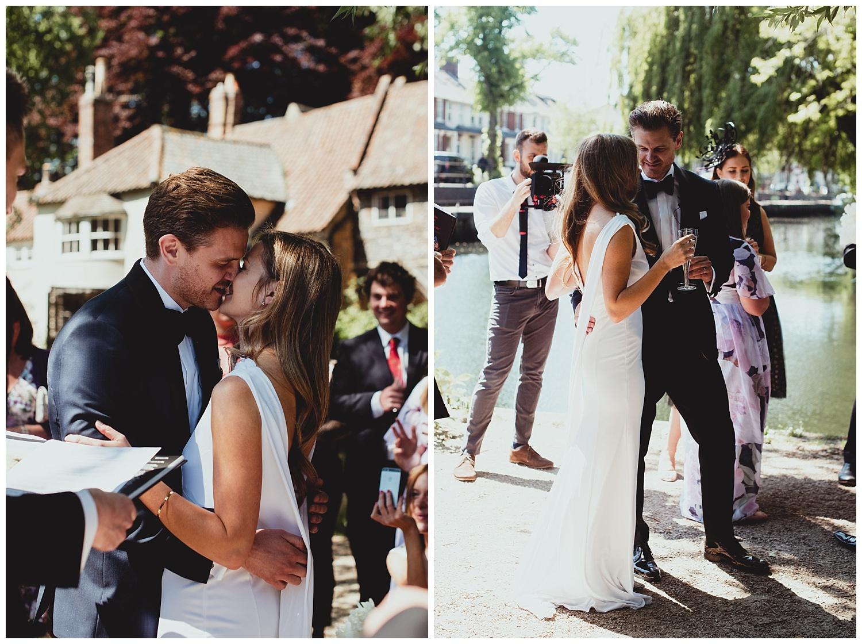 norwich riverside intimate wedding by georgia rachael