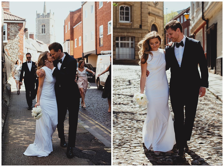 stylish norwich city intimate wedding by georgia rachael