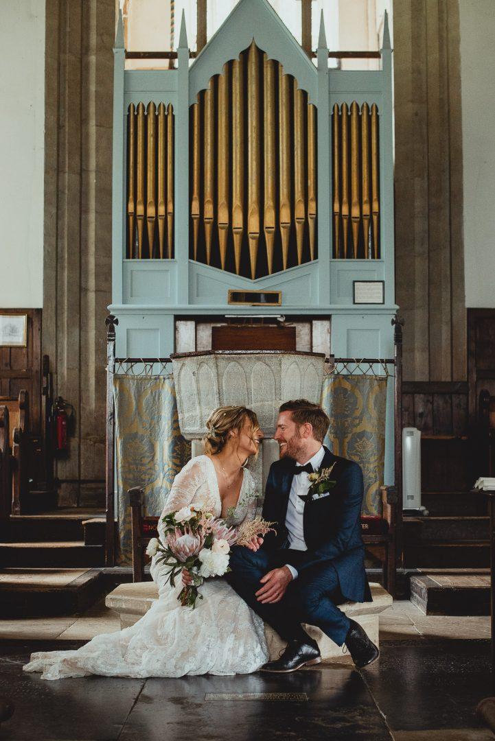 framlingham suffolk church wedding by georgia rachael