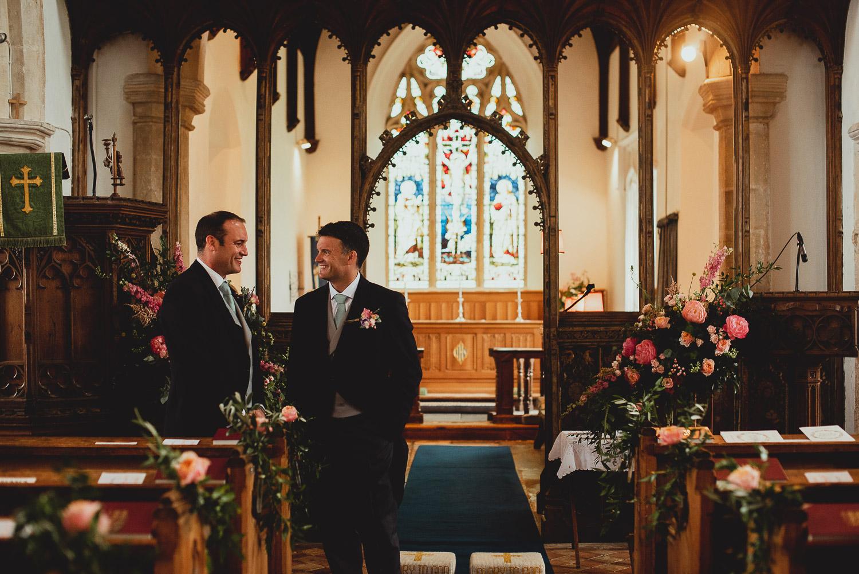 beeston regis church wedding by georgia rachael
