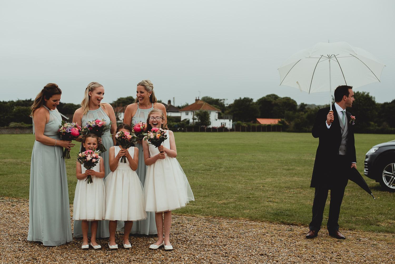 sheringham church wedding norfolk by georgia rachael
