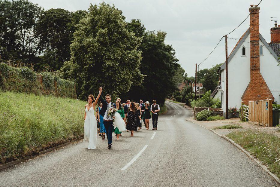 norfolk garden wedding in harleston