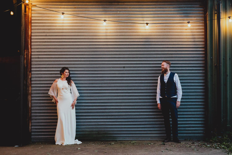 the fire pit wedding by georgia rachael