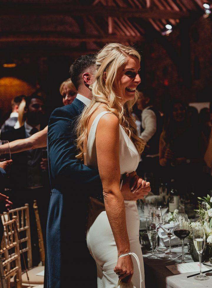 hales hall and great barn wedding by georgia rachael
