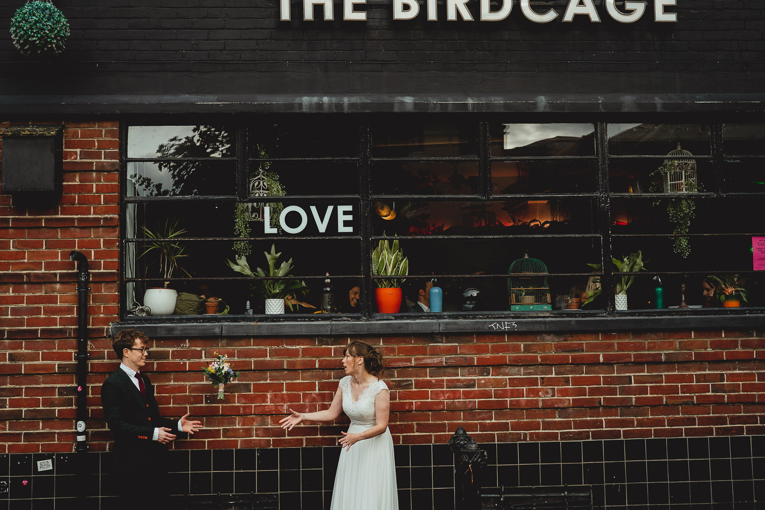 the birdcage norwich wedding