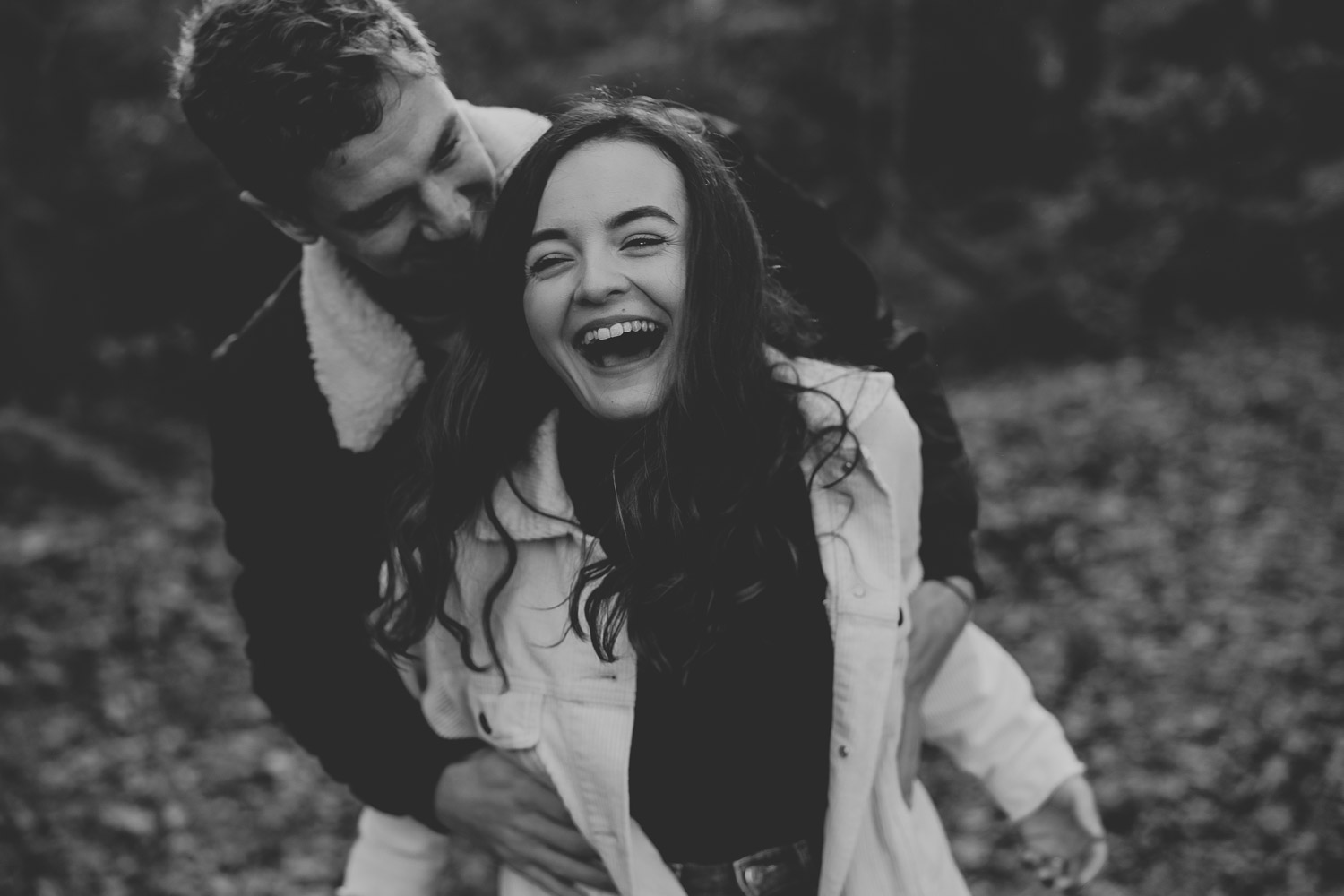 sheringham country park engagement session by georgia rachael