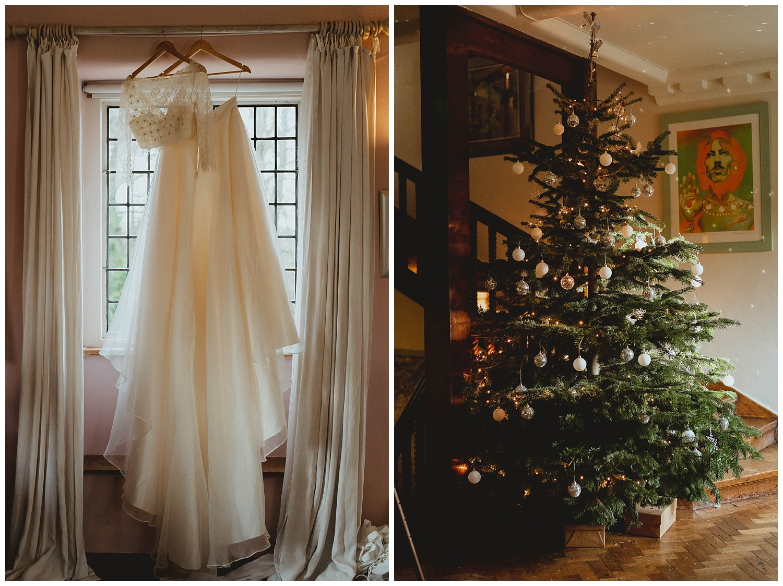voewood christmas wedding norfolk by georgia rachael