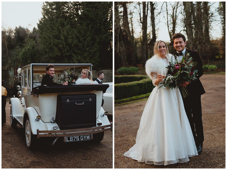 voewood winter wedding norfolk by georgia rachael