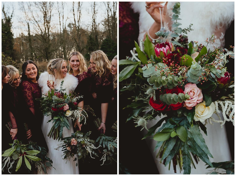 voewood winter norfolk wedding by georgia rachael