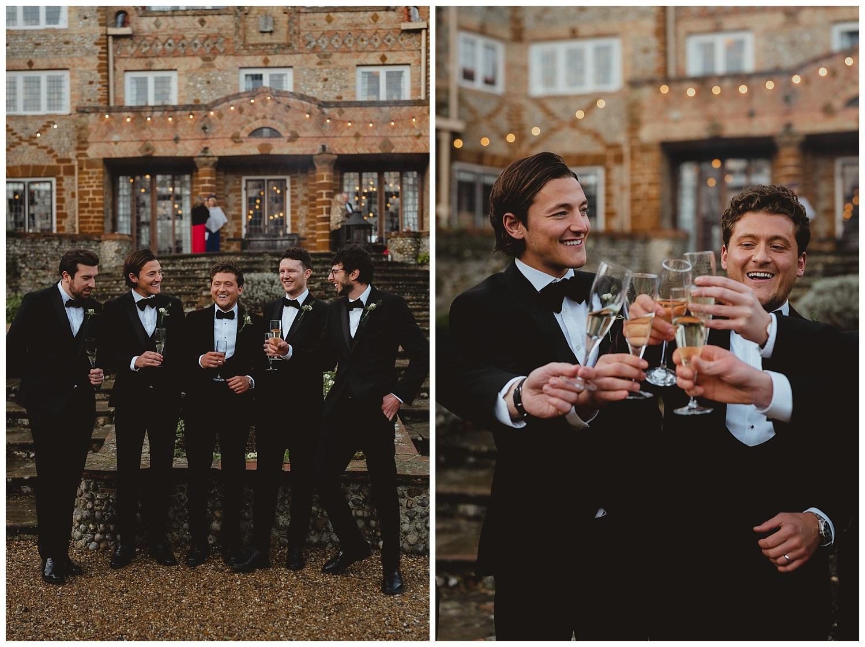 voewood black tie winter wedding norfolk