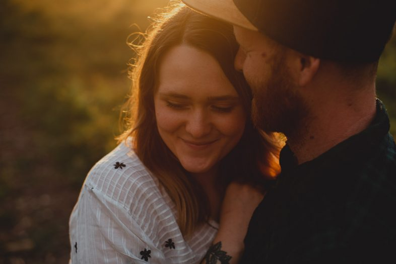 dunwich woods engagement session by georgia rachael photography