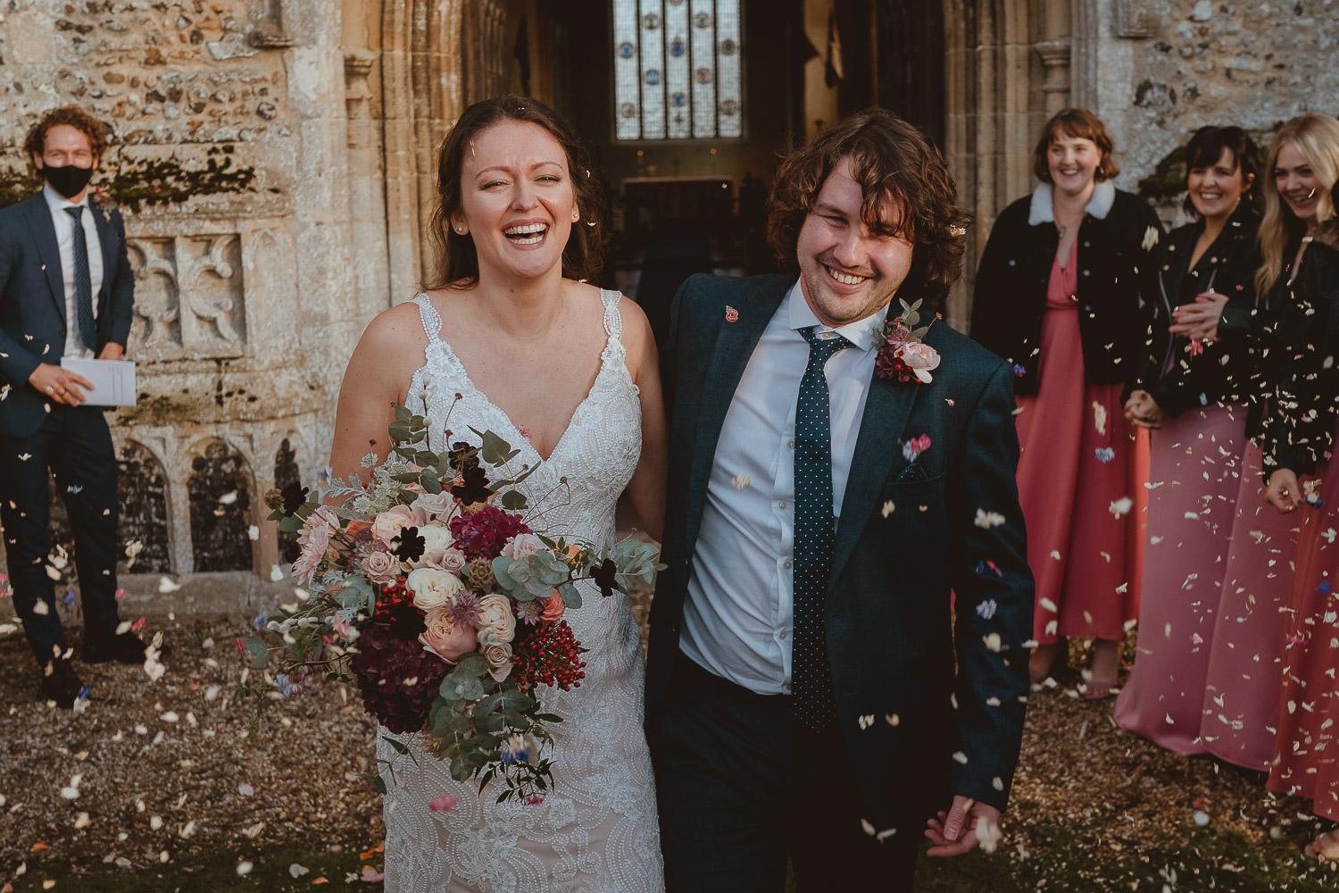 swanton morley church wedding in norfolk by georgia rachael
