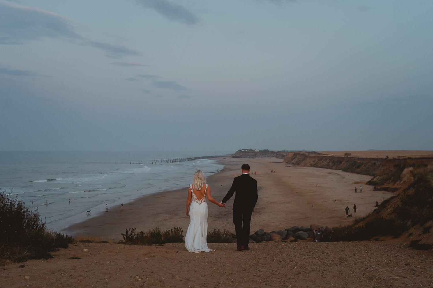 happisburgh wedding norfolk by georgia rachael photography