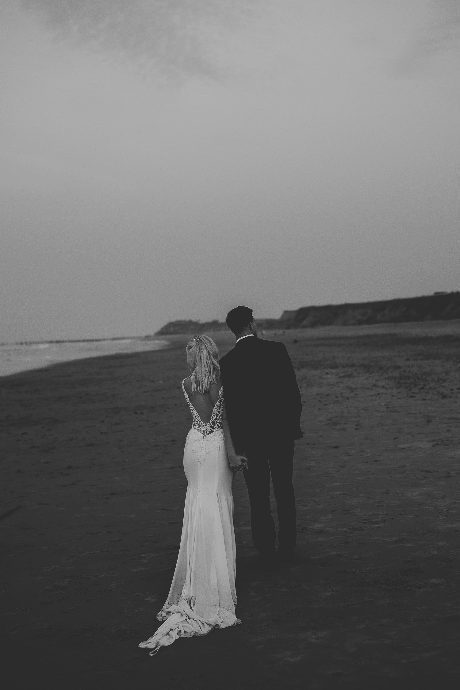 beach wedding norfolk by georgia rachael