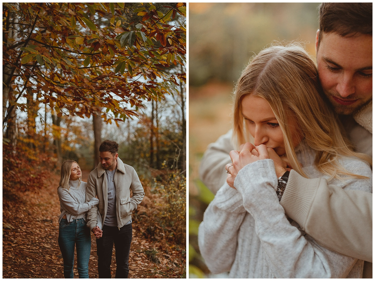 holt engagement session country park norfolk